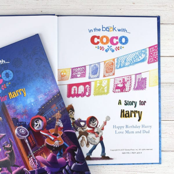 personalised coco book