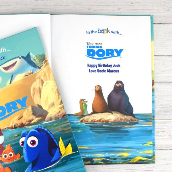 Personalised Finding Dory Disney Book