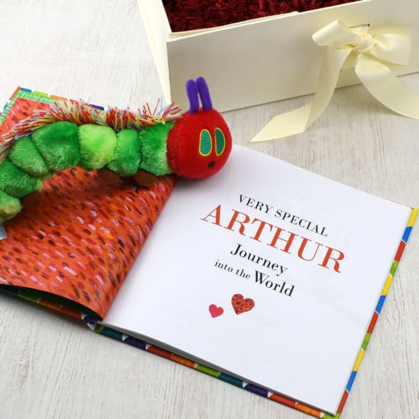 Hungry Caterpillar Plush Toy and Book