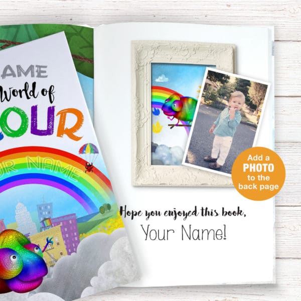 World of Colour Story book