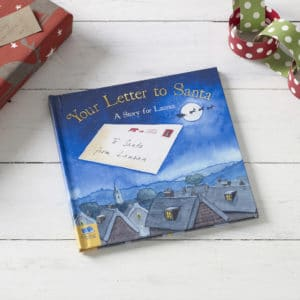 Letter to Santa Personalised Book
