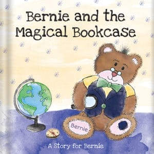 bernie and the magical bookcase