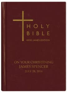 Personalised Bible