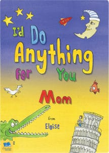 personalised do anything for you book