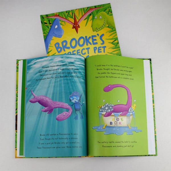 perfect pet dinosaur book
