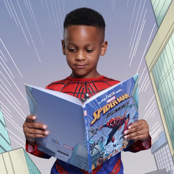 Personalised Spider-man Book