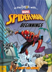 Personalise spider-man beginnings book