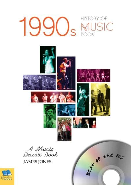 music history of the 1990s book