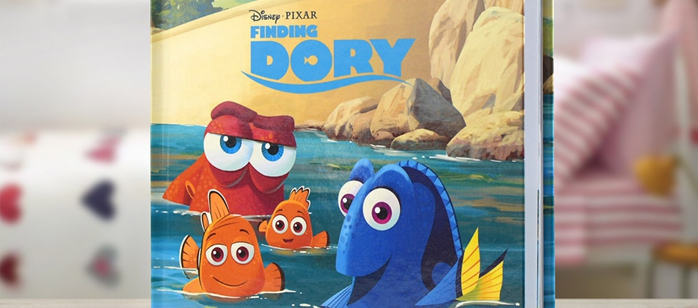 Personalised Finding Dory Book