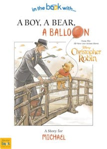 Personalised Christopher Robin Book