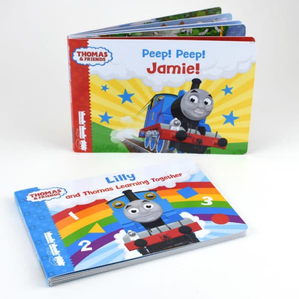 thomas the tank engine personalised books