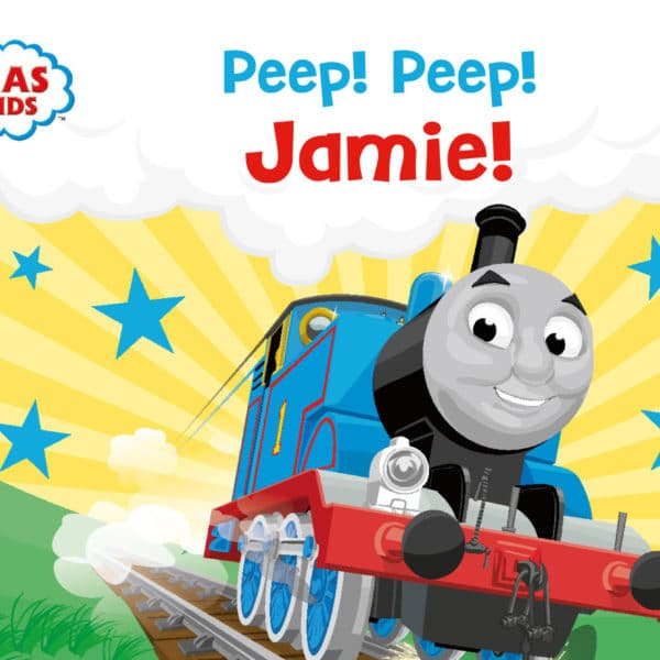 personalised thomas the tank engine board book