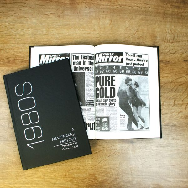 Decade Newspaper Books Hardback