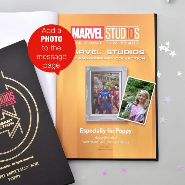 Personalised Ultimate Marvel Collection Book