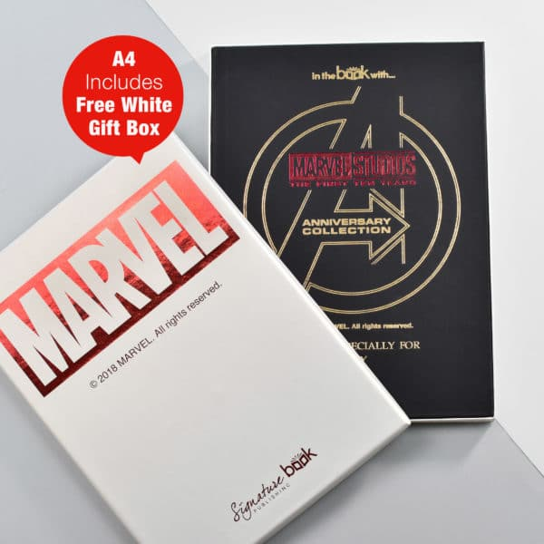 Marvel Anniversary collection book