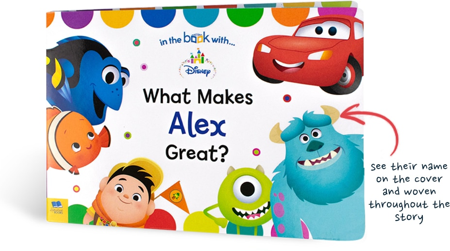 Personalised Childrens Disney Book