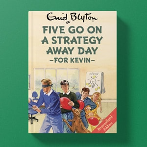 Personalised Famous Five Spoof Books