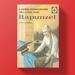 Personalised Ladybird Books for Grown Ups