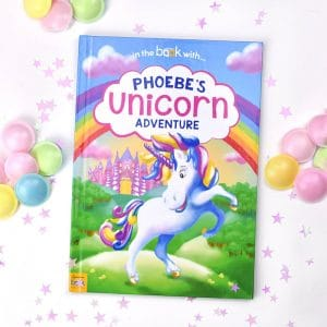 personalised unicorn book