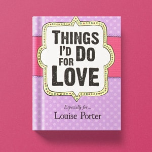 Personalised Valentine's Day Books