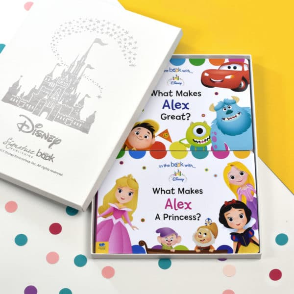 Personalied Disney Board Book double pack