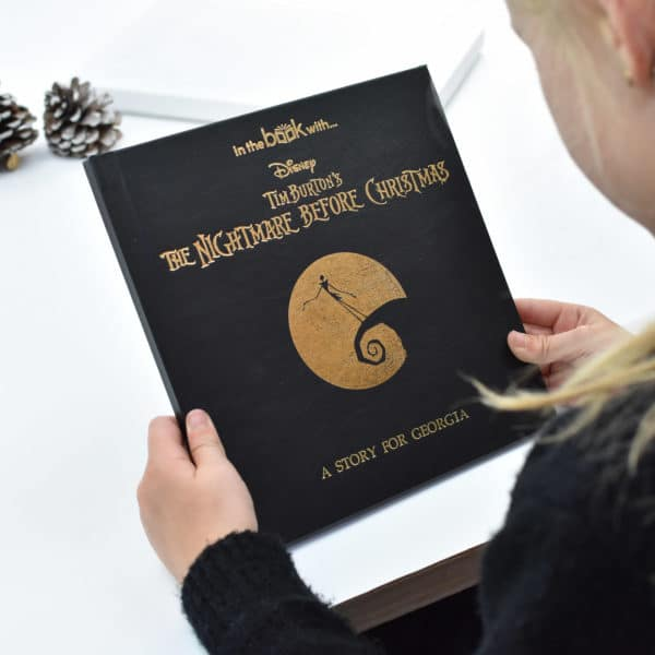 Personalised Nightmare Before Christmas Book