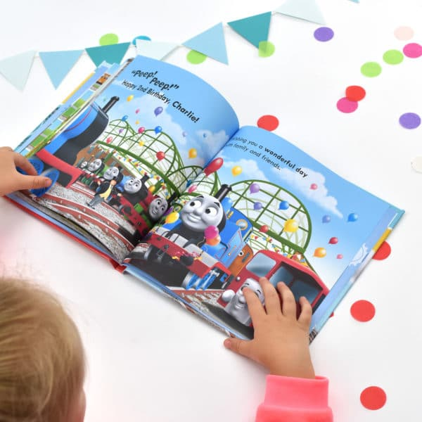 Thomas the Tank Engine Birthday Book