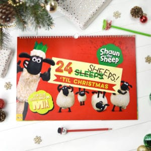 Shaun the Sheep 24 Sheeps Till Christmas