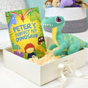 Dinosaur Plush Toy and Pet Dinosaur Book