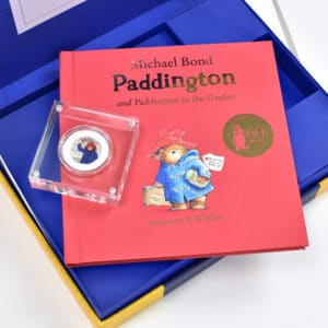 paddington bear coin gift set