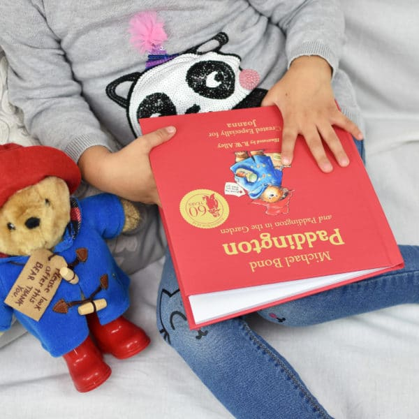 Personalised Paddington Book Plush Toy