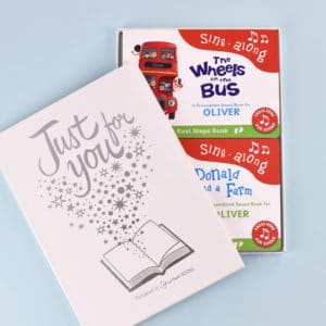 Musical board book set