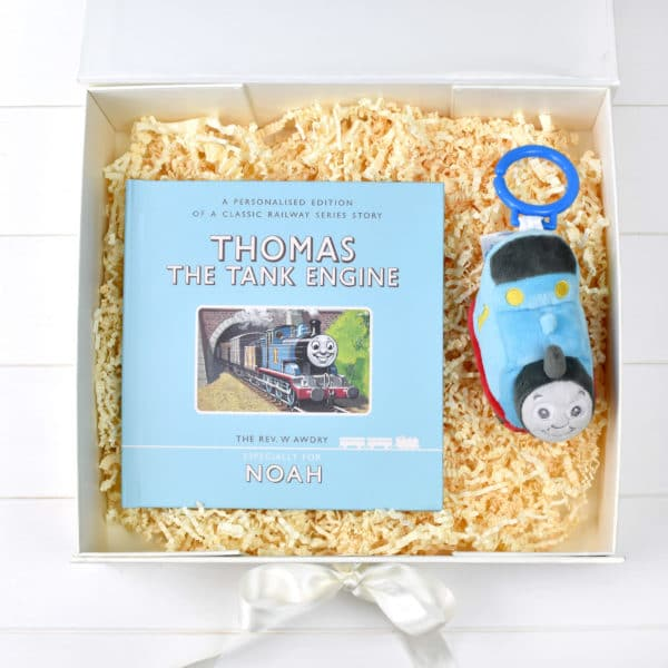 Personalised Thomas Book Plush Toy