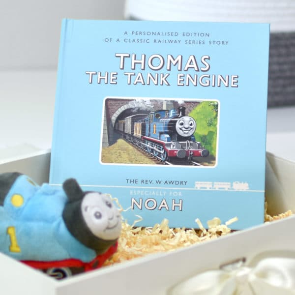 Thomas the Tank Plush Toy and First Edition Book