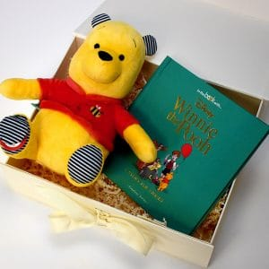 Winnie the Pooh Soft Toy & Disney Story Book
