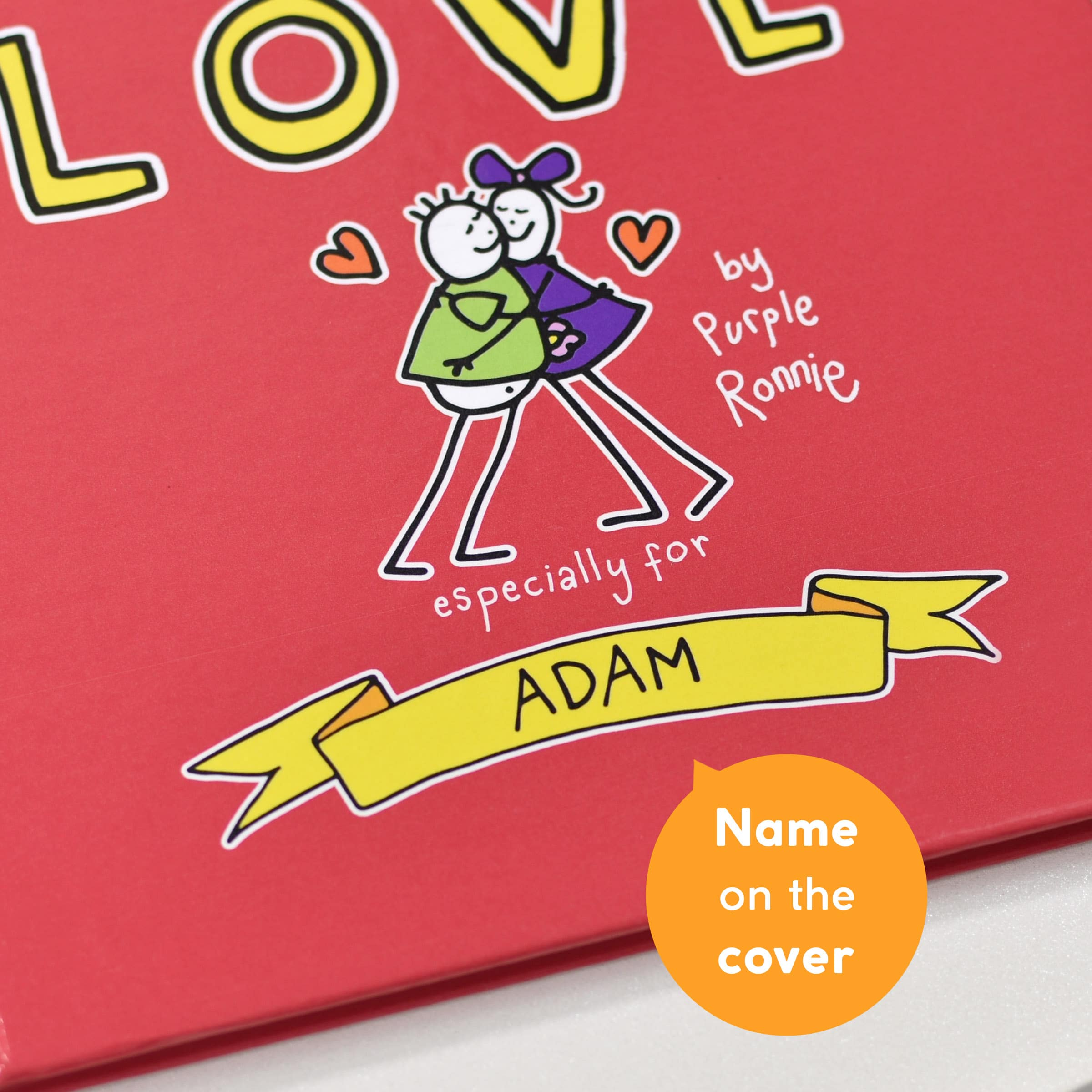 purple ronnie love poems book  in the book uk