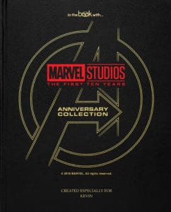 personalised marvel collection book