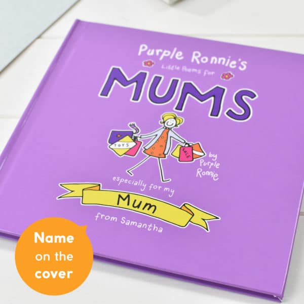 Purple Ronnie Poems for Mum Book