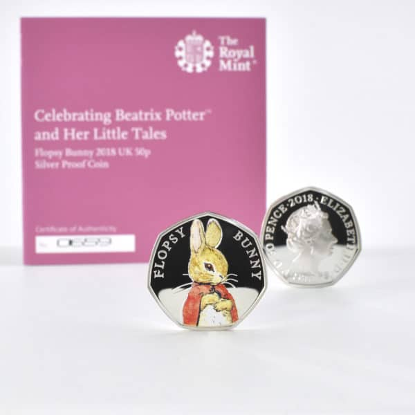 Flopsy Bunnies book and coin set