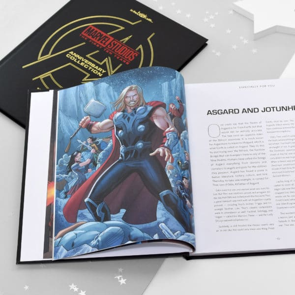 Marvel Avengers Collection personlised book