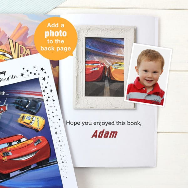 cars 3 personalised photo