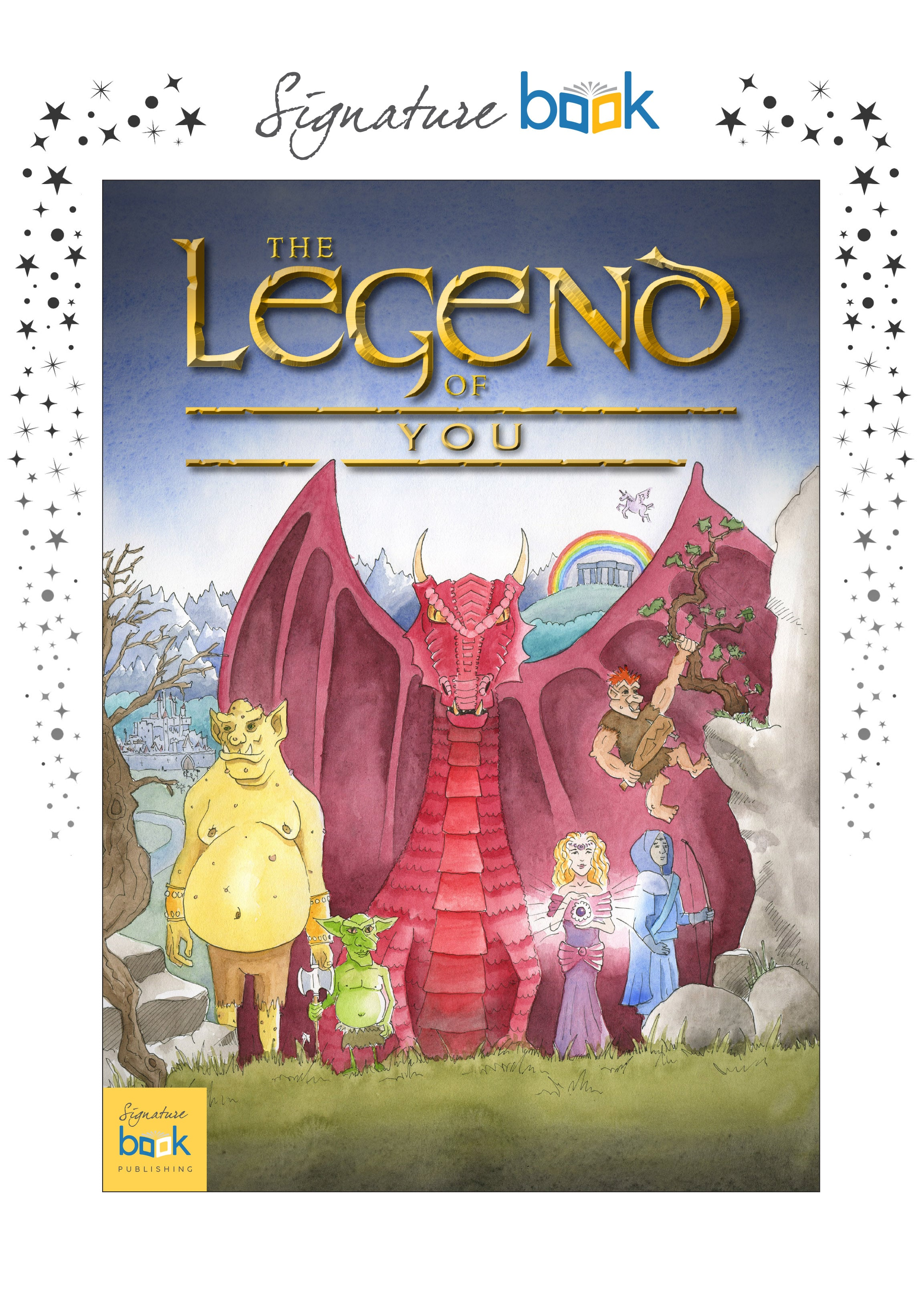 The Legend of... Children's Book
