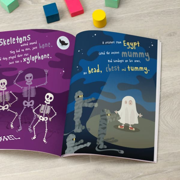 Personalised On Halloween Night Book