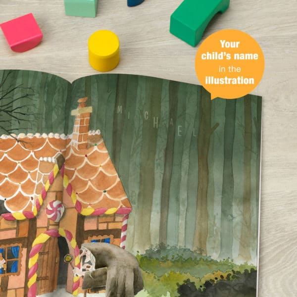 Personalised Hansel and Gretel Story Book