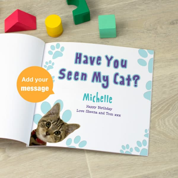 Have You Seen My Cat? Children's Book
