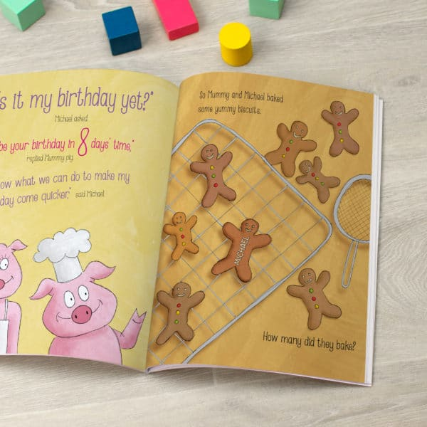 Birthday Countdown Book