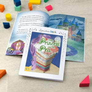 The Princess and the Pea Fairy Tale Book