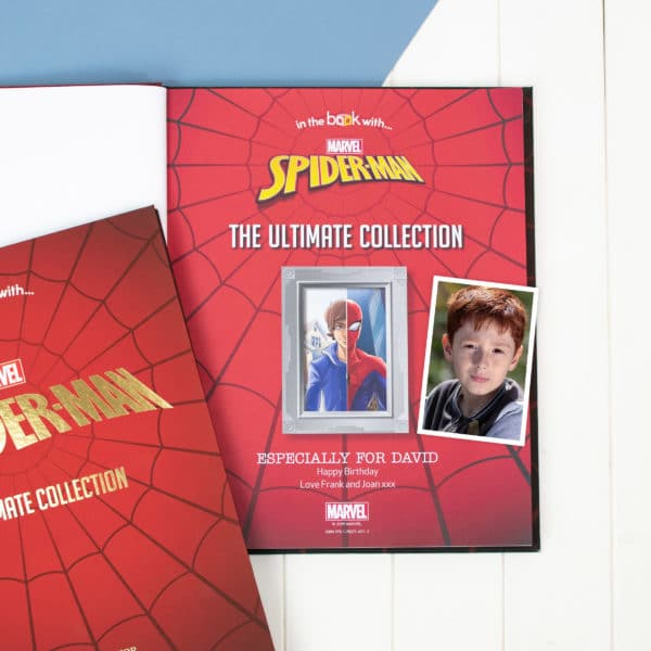 spiderman ultimate collection personalised