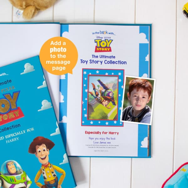 toy story personalised image