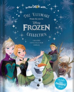 Frozen Collection personalised Disney Book
